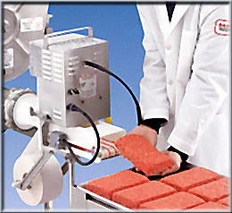 Minced meat dosing feeder